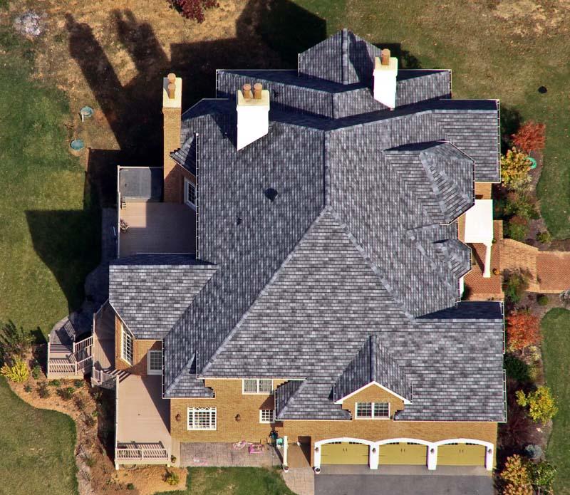 Gaf Slateline Roof Valley Roofing