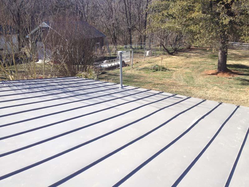 Gaf Topcoat Roof Coating : Metal roofs warranty