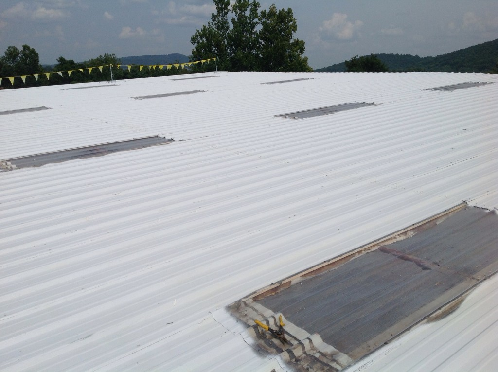 Roof Coating In Charlottesville Using Gaf Topcoat
