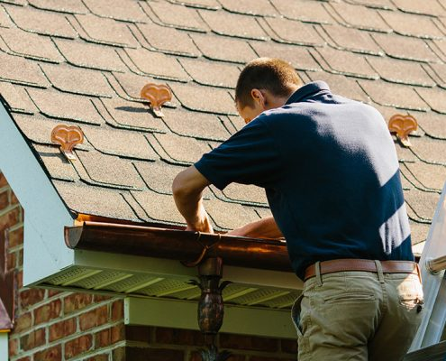 cleaning your gutters regularly preserves your investment