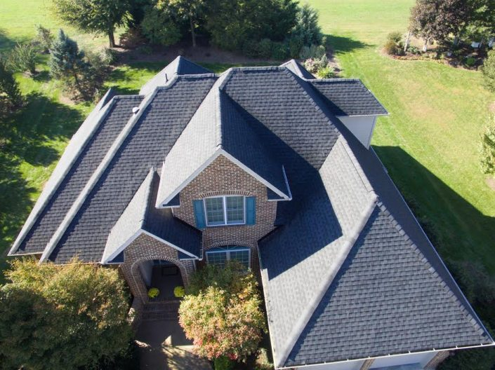high end shingle roofing