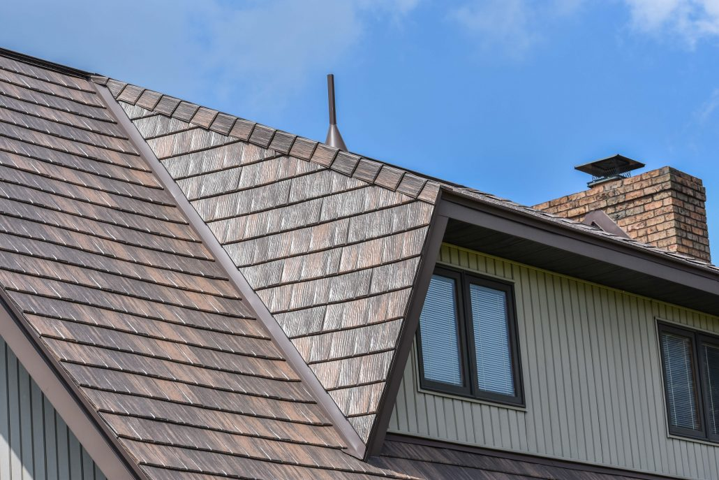 Valley Roofing Provides Metal Shingles For Your Home And