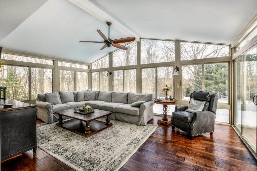 add square footage with a sunroom