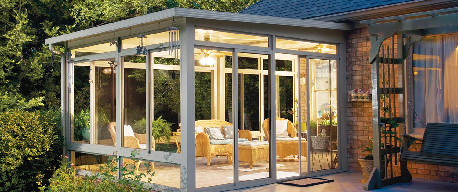 beautiful sunroom addition